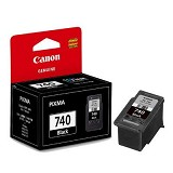 CANON Black Ink Cartridge with Print Head [PG-740] - Tinta Printer Canon